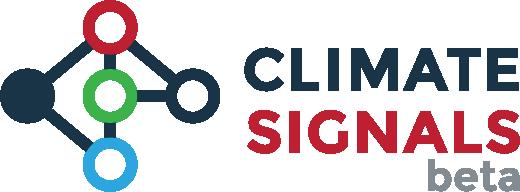 Climate Signals logo