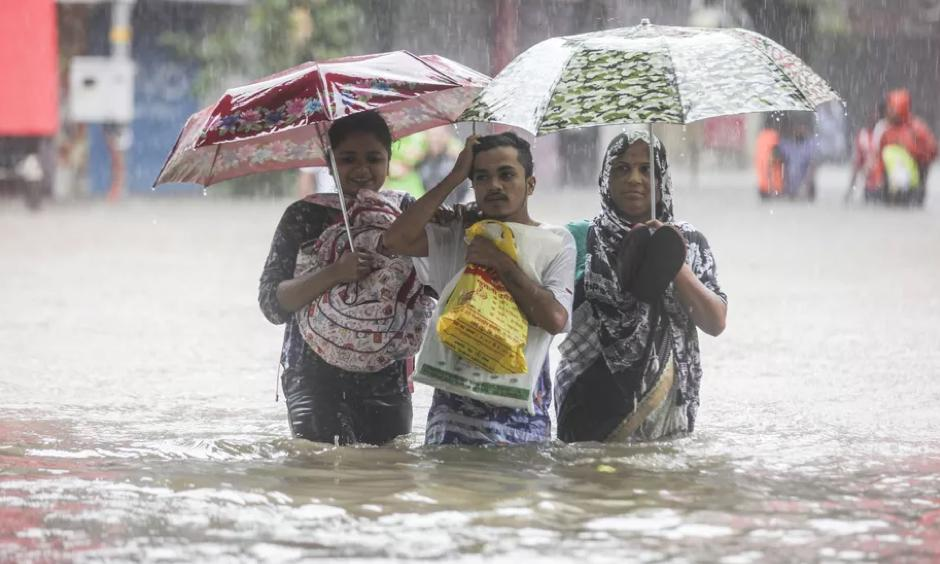 Mumbai floods August 29, 2017	Imtiyaz Shaikh /Anadolu Agency/Getty Images