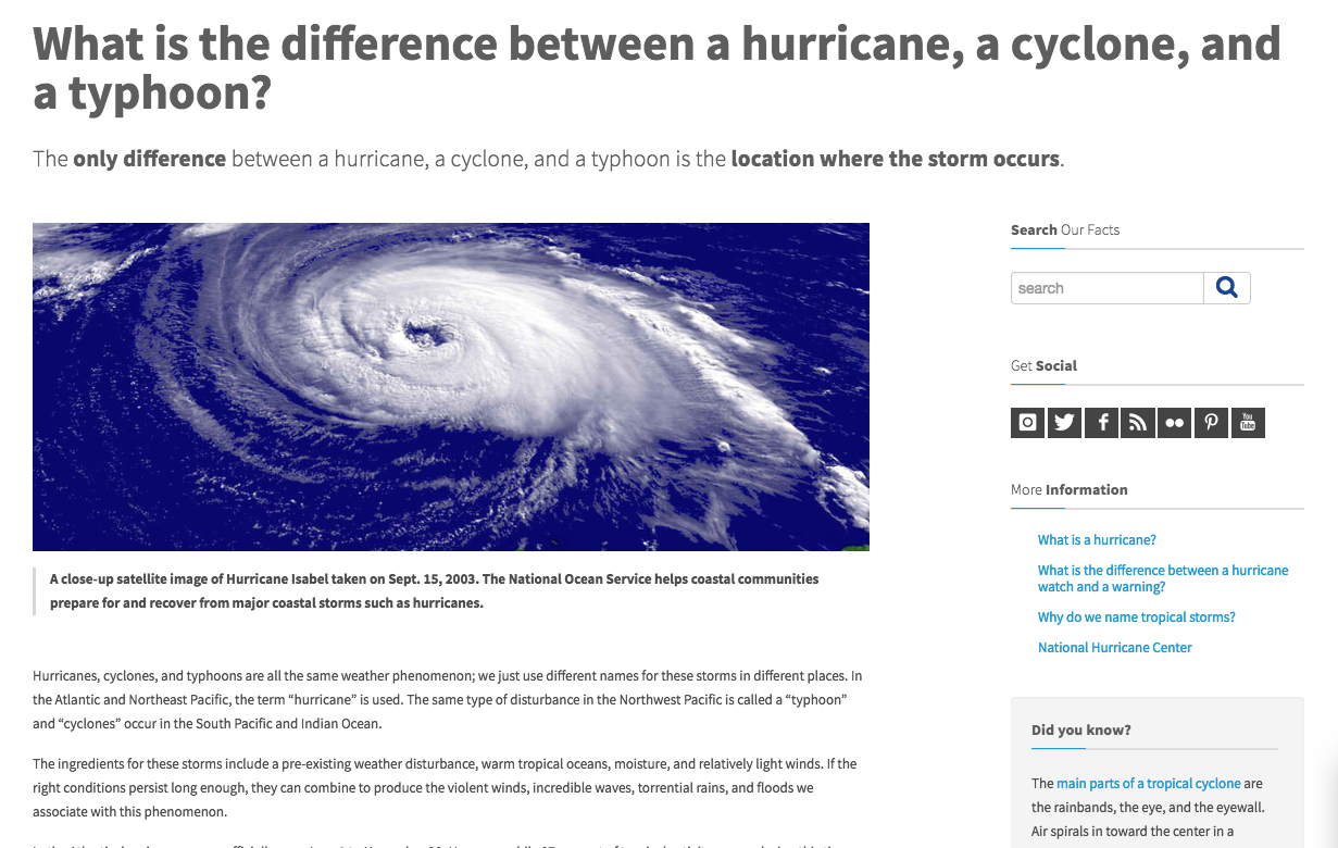 Explainer Whats Difference Between >> Climate Signals Explainer What Is The Difference Between A