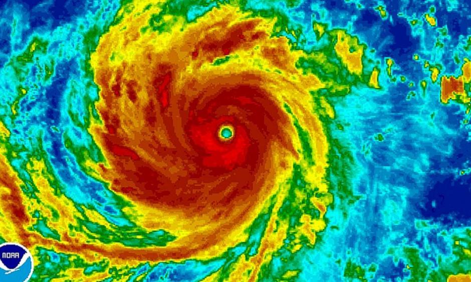Typhoon Soudelor. Image: NOAA