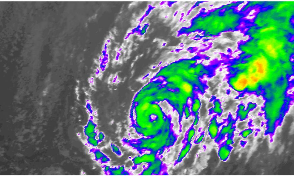 Satellite view of Subtropical Storm Alex. Image: NOAA