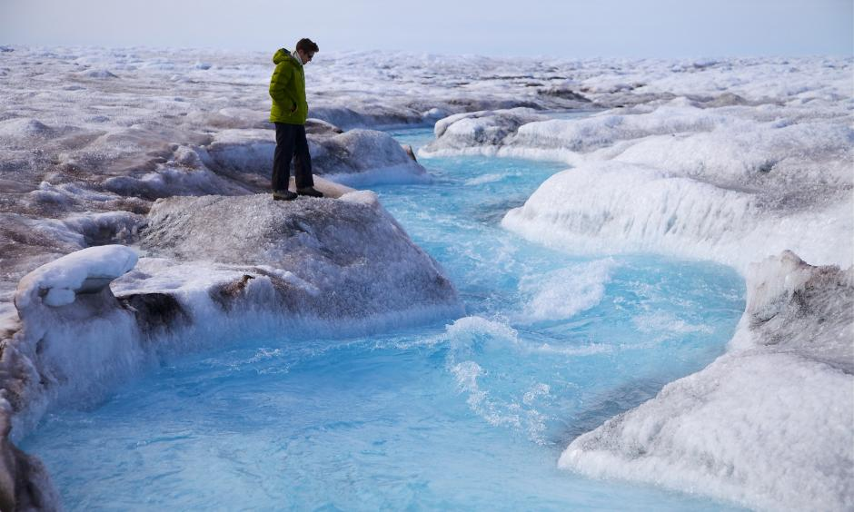 Greenland ice sheet melt has been marked by two major melt events since 2000—one in 2002 and another in 2012.