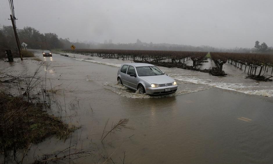Climate Signals   California Floods January 2017
