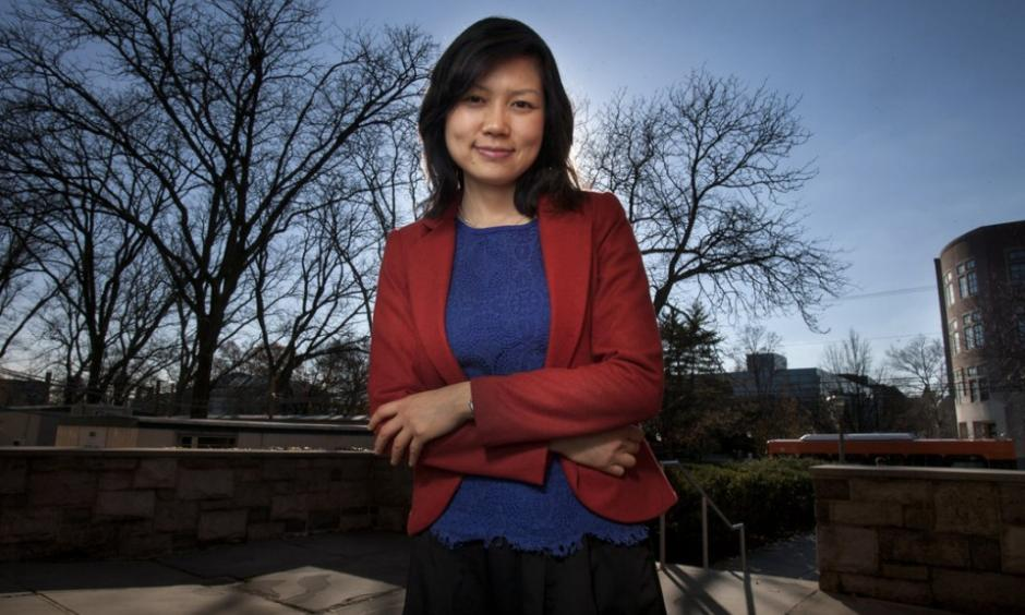 Ning Lin, a Princeton University researcher who is among several interviewed for a story on whether Hurricane Sandy has the potential to kick-start meaningful action on climate change. Michael Mancuso/The Times