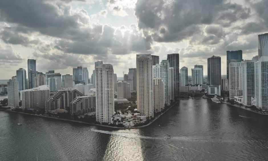 Miami shoreline. Photo: Kadir Van Lohuizen