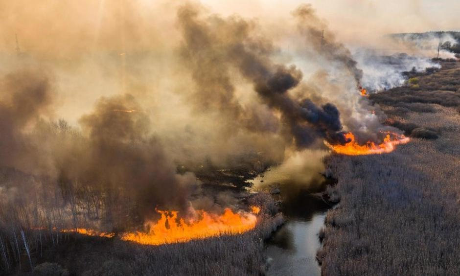 Climate change is increasing wildfire risk