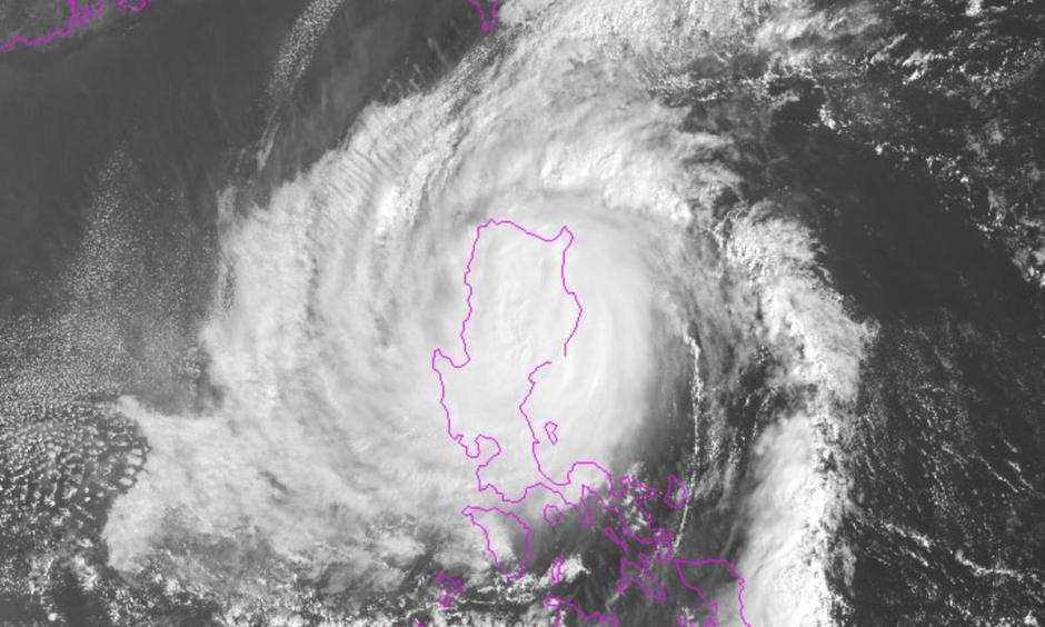 Typhoon Yutu on Oct 30. Image: NOAA
