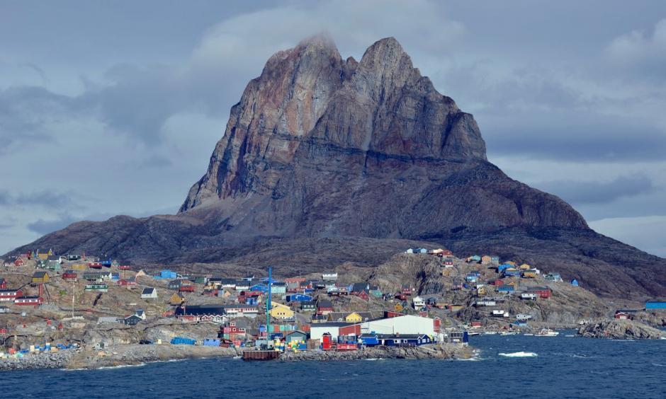 Uummannaq. Photo: Karlheinz Schindler, dpa via AP Photo
