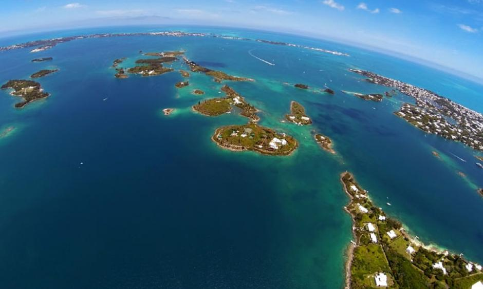 The Marshall Islands from above. Photo: Bermuda Mike/flickr