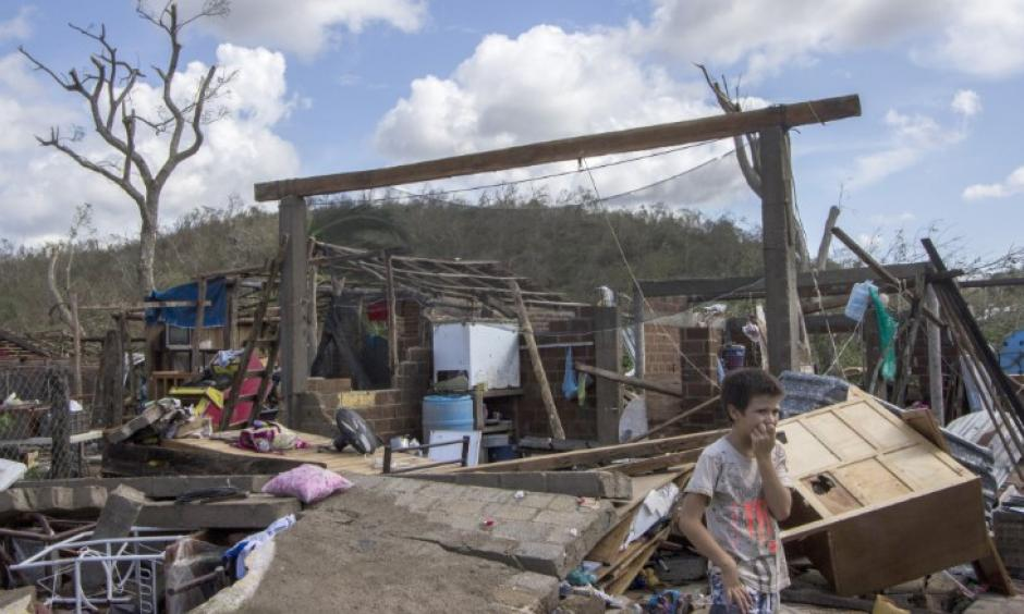Debris left by Hurricane Patricia litters the Chamela community in the state of Jalisco, Mexico. Photo: CNN