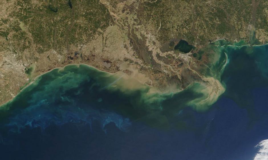 Satellite view of the Gulf of Mexico. Photo: NASA