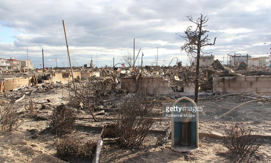 Damage in the Breezy Point neighborhood of Queens in the wake of Sandy. Photo: Katherine Moore