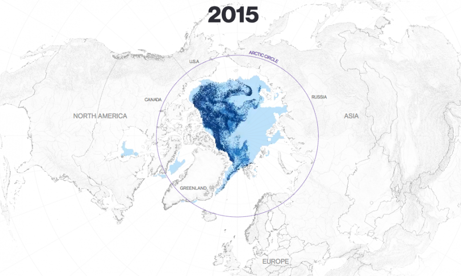 Image: NASA NSIDC, Sea Ice Age V3