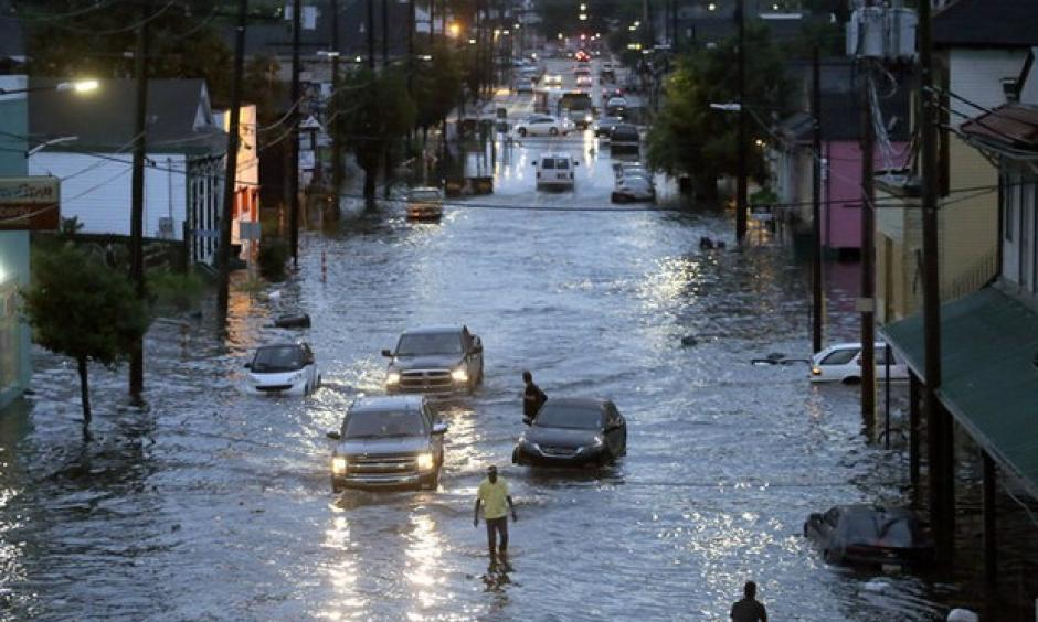 Street flooding in New Orleans on Saturday, August 5, 2017. Photo: Brett Duke, The Times-Picayune