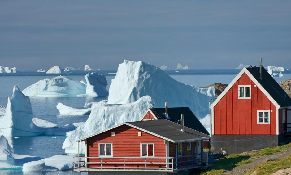 There's a shortage of housing solutions in the far north, where the Arctic is warming faster than expected. Photo: Christophe Boisvieux, Corbis