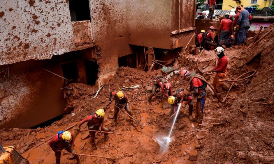 landslide after extreme rainfall