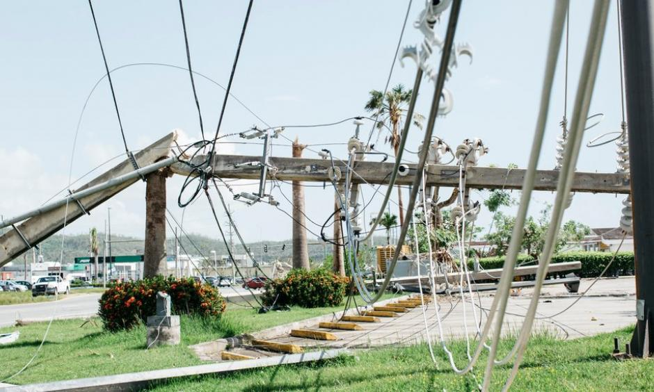 Electricity infrastructure wrecked by Hurricane Maria in Puerto Rico. The financial fallout could bring higher insurance premiums for homeowners in disaster-prone areas. Photo: Erika P. Rodriguez for The New York Times