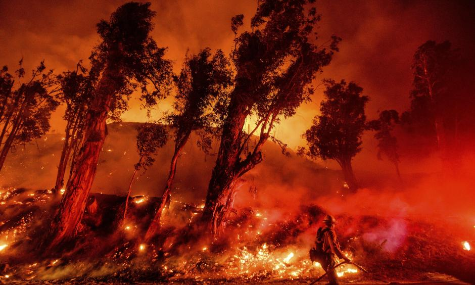 wildfire extreme heat