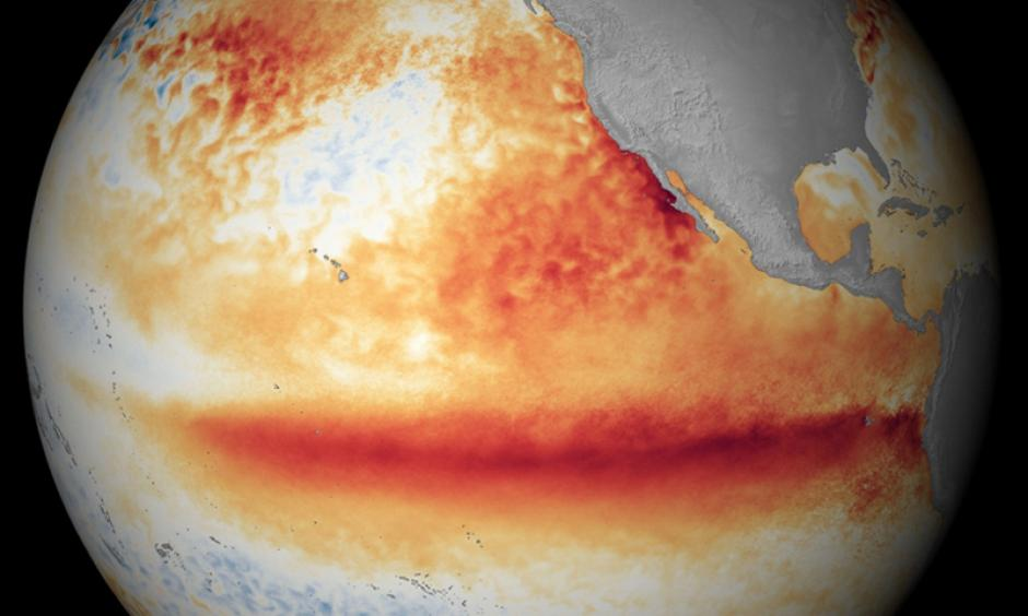 Monster El Nino. Image: WxShift