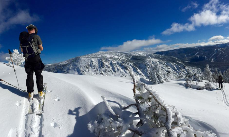 The return of California's snowpack this winter has relieved water managers and skiers alike. Photo: Jonathan Fox, flickr