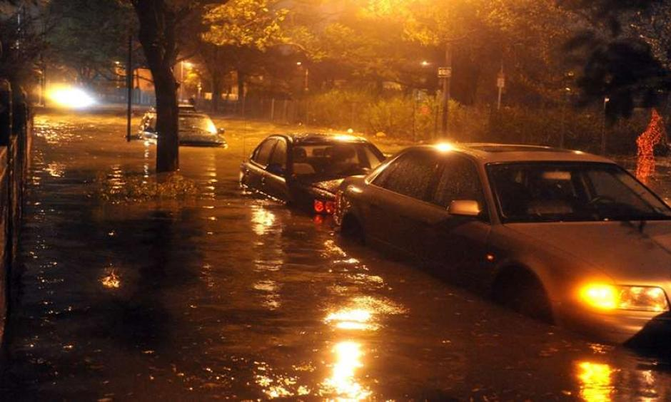 Superstorm Sandy flooded streets in Brooklyn. Photo: Shutterstock