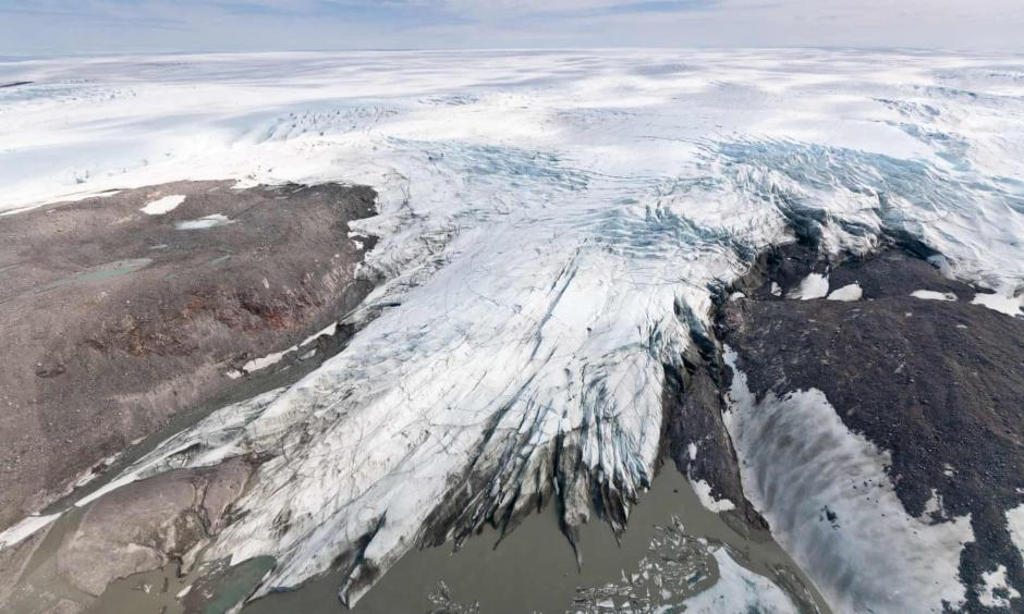 Climate change is accelerating sea ice melt at both the north and south poles
