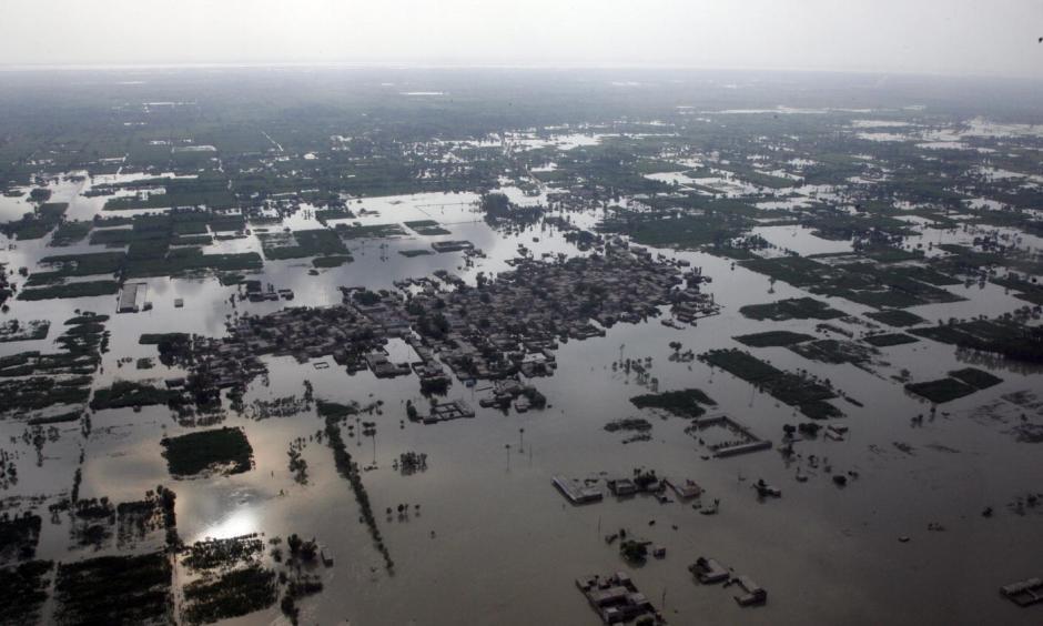 Flooding in Punjab Province, Pakistan. Photo: United Nations Photo