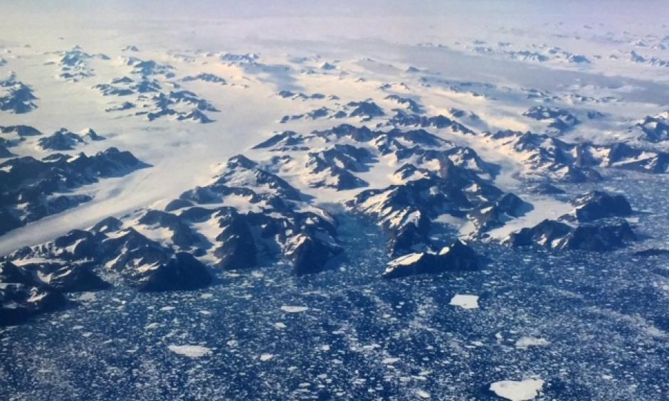 Arctic sea ice extent is declining at a rate of about 3.2 percent per decade. Photo: Bob Berwyn
