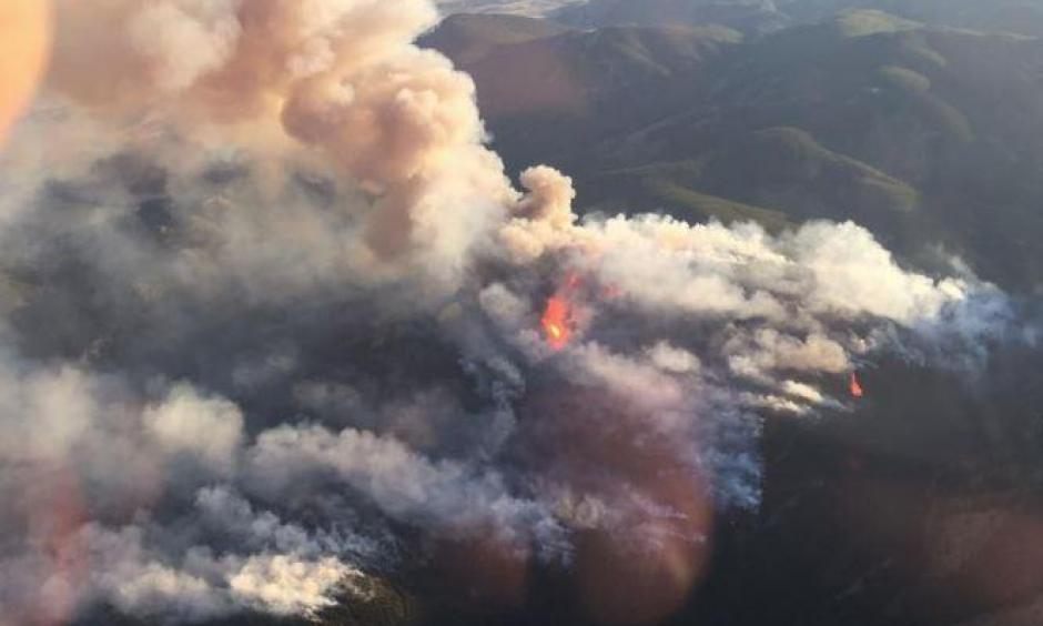 Extreme fires, flash droughts, and fast-melting snowpacks are all predicted in the state's first ever climate assessment, which is slated for release on September 20th. Photo: U.S. Bureau of Land Management