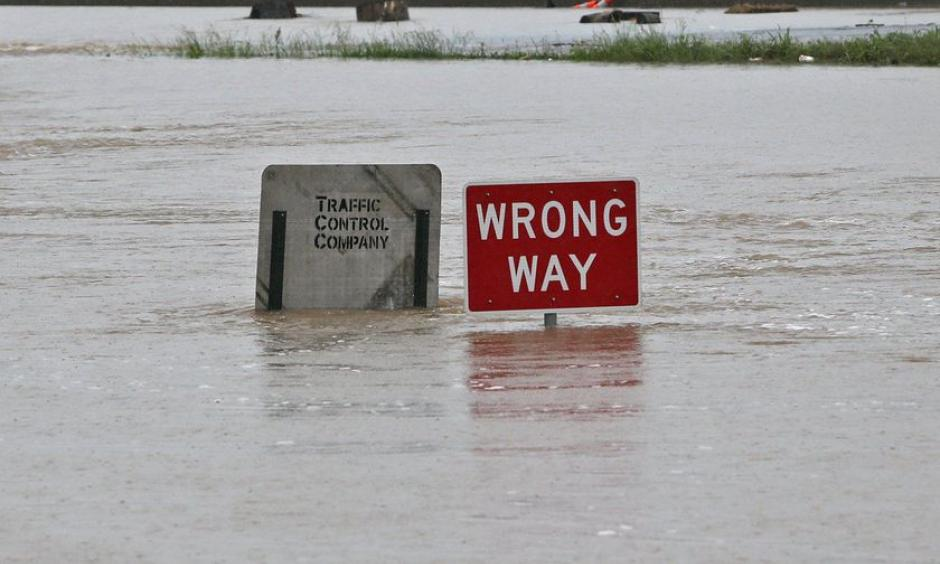 A sign on the off ramp at the intersection of Highway 141 and I-44 on Wednesday, May 3, 2017, in Valley Park. Photo: J.B. Forbes