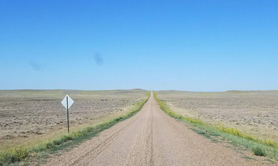 Grazing land in southern Valley County is dried and lifeless as northeast Montana experiences one of its worst droughts in decades. Photo: National Weather Service, Glasgow