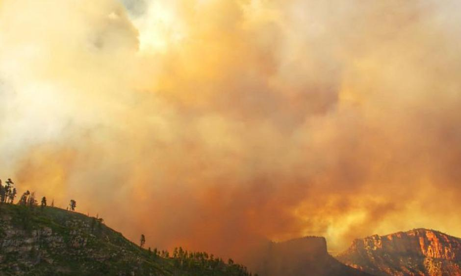 Fuller Fire grew to more than 11,000 acres overnight. Photo: Inciweb