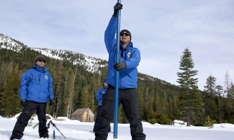 Climate change is decreasing snowpack in California
