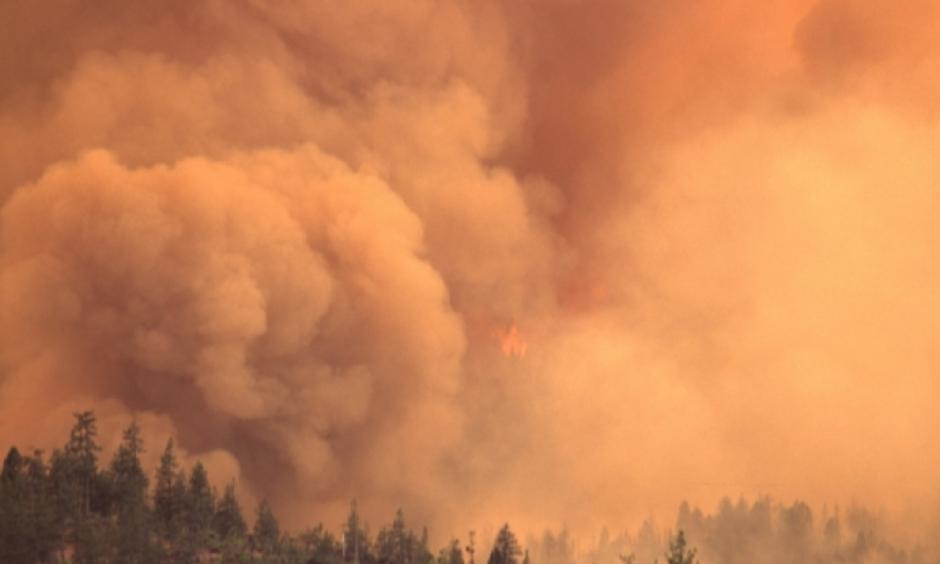 Wildfire in the Pacific Northwest. Photo: Bureau of Land Management Oregon and Washington/Flickr