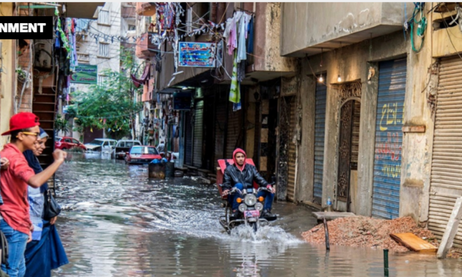 Rainstorms that killed six are  likely to increase in coming decades in vulnerable Mediterranean port city. Photo: AP