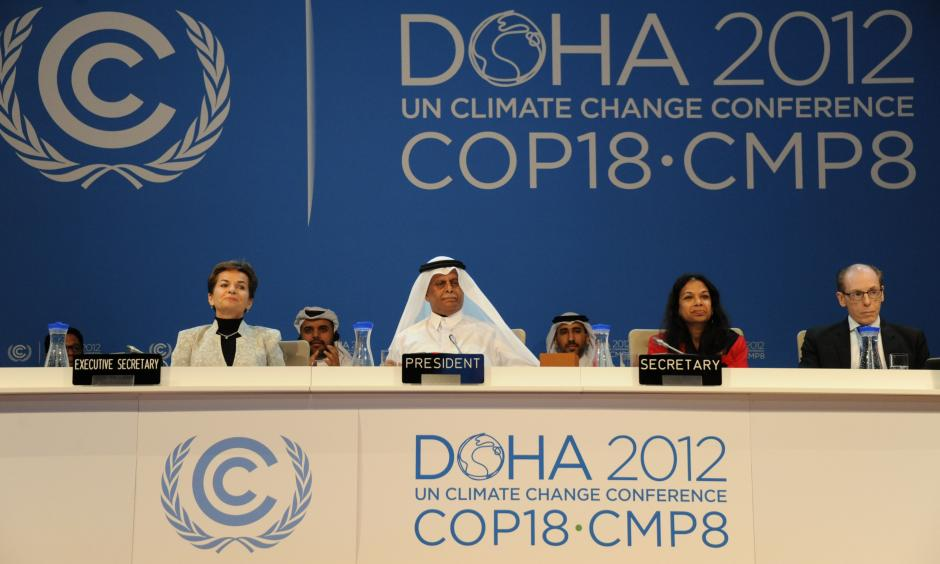 Doha 2012, Photo: UNclimatechange, Flickr