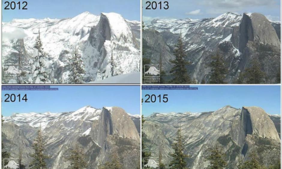 Yosemite over the years. Credit: Huffington Post