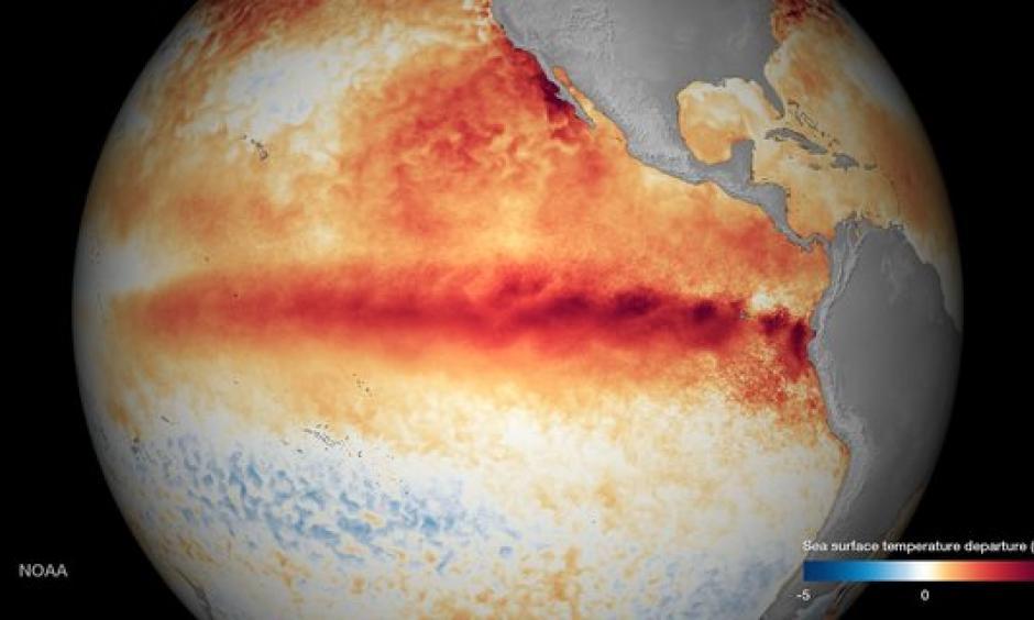 El Nino 2015-16, NOAA