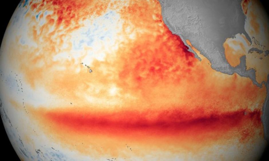 El Niño 2015 - 2015. Image: New Scientist