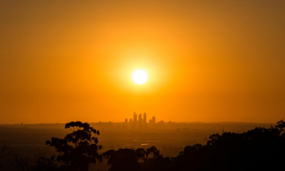 "Perth could see temperatures ""into the 50s"" if action is not taken, a leading climate scientist has warned. Photo: Getty"