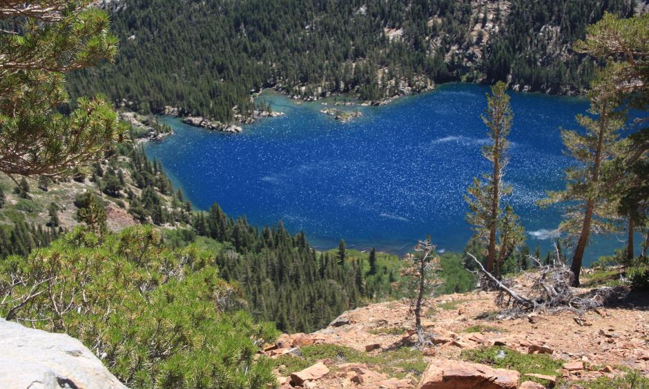 Green Lake from rim of West Lake. Photo: Wikimedia Commons