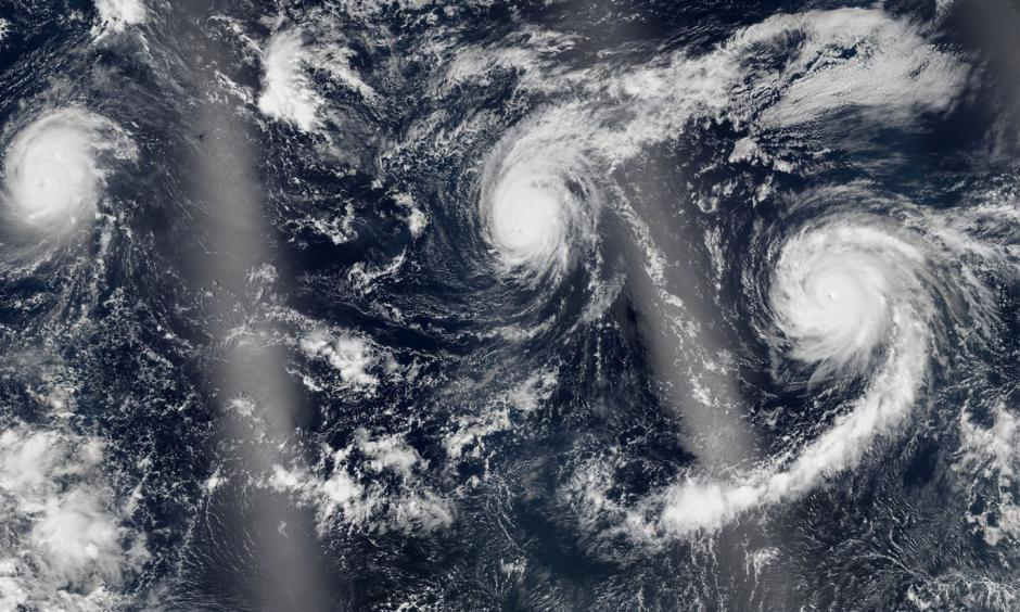 The 2015 Central Pacific hurricane season is going in the record books. (NASA)