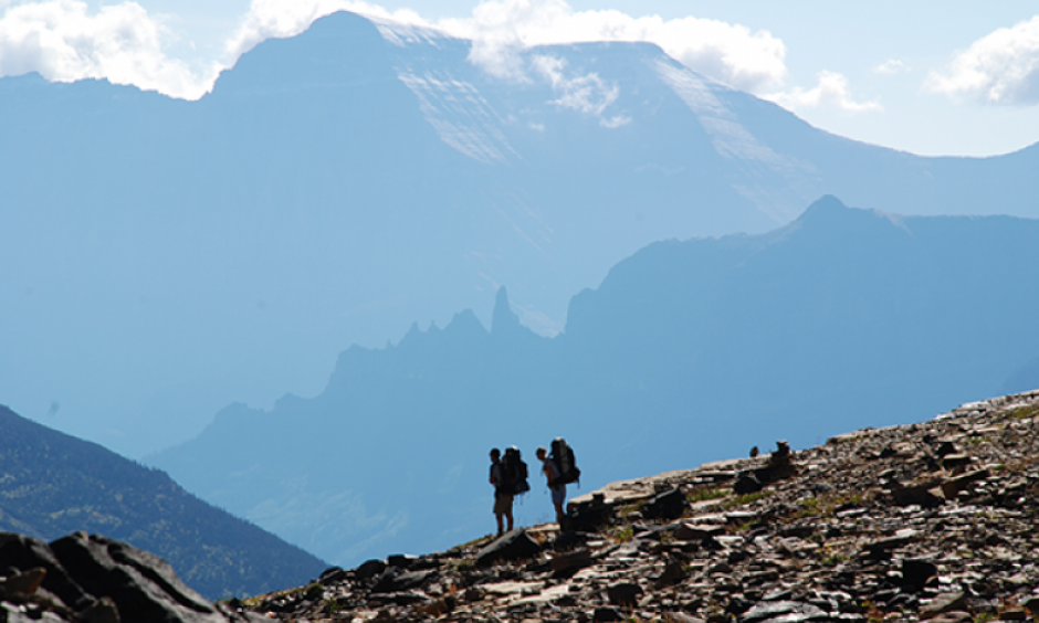 The USGS is studying the impacts of climate change in Glacier National Park in Montana. Photo: United States Geologic Survey