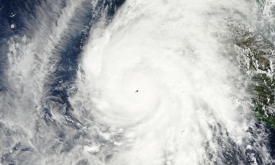 Hurricane Patricia. Photo: NASA