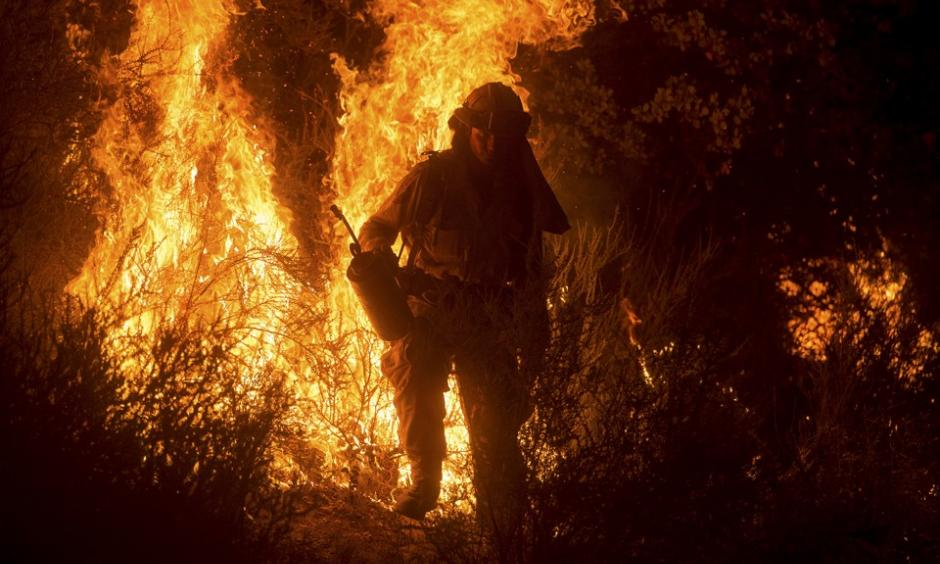 Firefighting (Image: The Atlantic)