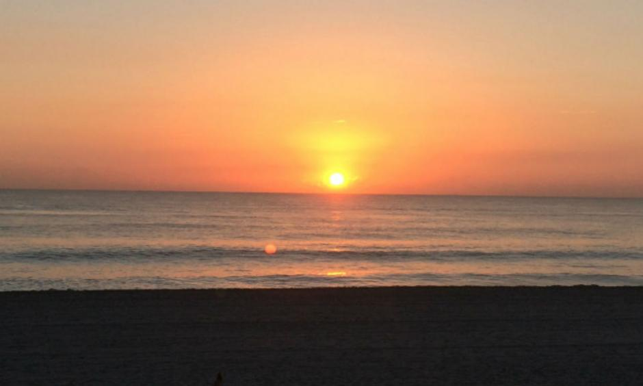 Palm Beach sunrise, Nov. 10. Photo: Palm BeachPost