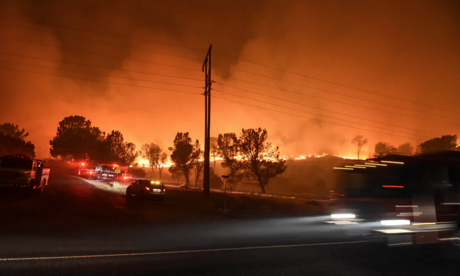 The amount of area burned has ballooned by 1,200%, with areas such as the northern Rockies and the north-west particularly badly hit. Photo: Ryan Babroff / AP