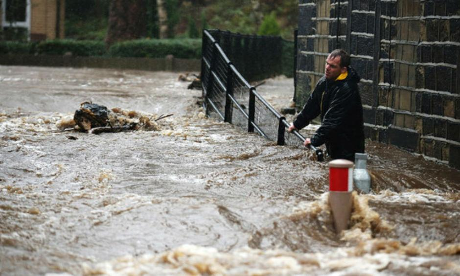 UK flooding (Image: FT)