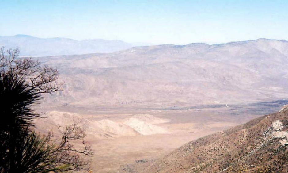 A view of the Anza-Borrego Desert from Mount Laguna in the Cleveland National Forest. Credit: Michael Romanov via Wikimedia Commons