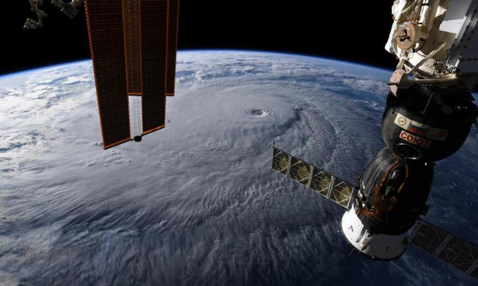 Hurricane Lane as seen from the International Space Station. Image: NASA